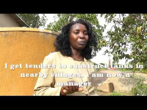 Every Rain Drop Counts: Women champions in promoting rain water harvesting  & sanitation in Uganda