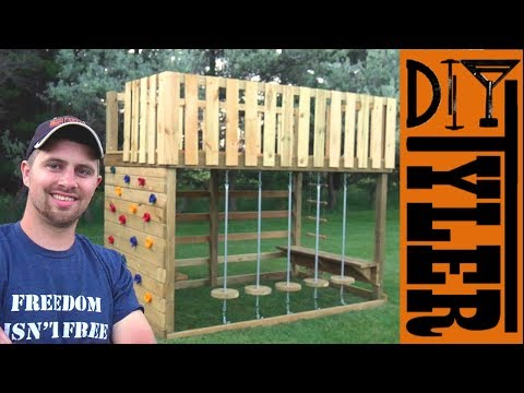 Mini Obstacle Course / Jungle Gym / Climbing Gym for your Kids