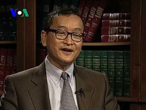 Cambodian Opposition Leader Sam Rainsy Makes Case in Washington -- part II (Cambodia news in Khmer)