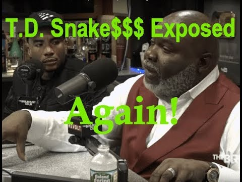 T.D. Jakes Exposed With Clips By RDM
