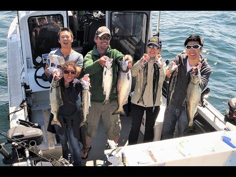 Seattle Salmon Fishing 08 05 2018