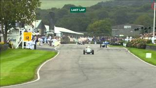 Finishing straight heroics leads to epic crash at Goodwood Revival