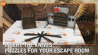 Insert the knives - Puzzles for your escape room