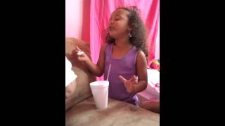 "Peanut singing ""Fly with One Wing"" from ""Sparkle"""
