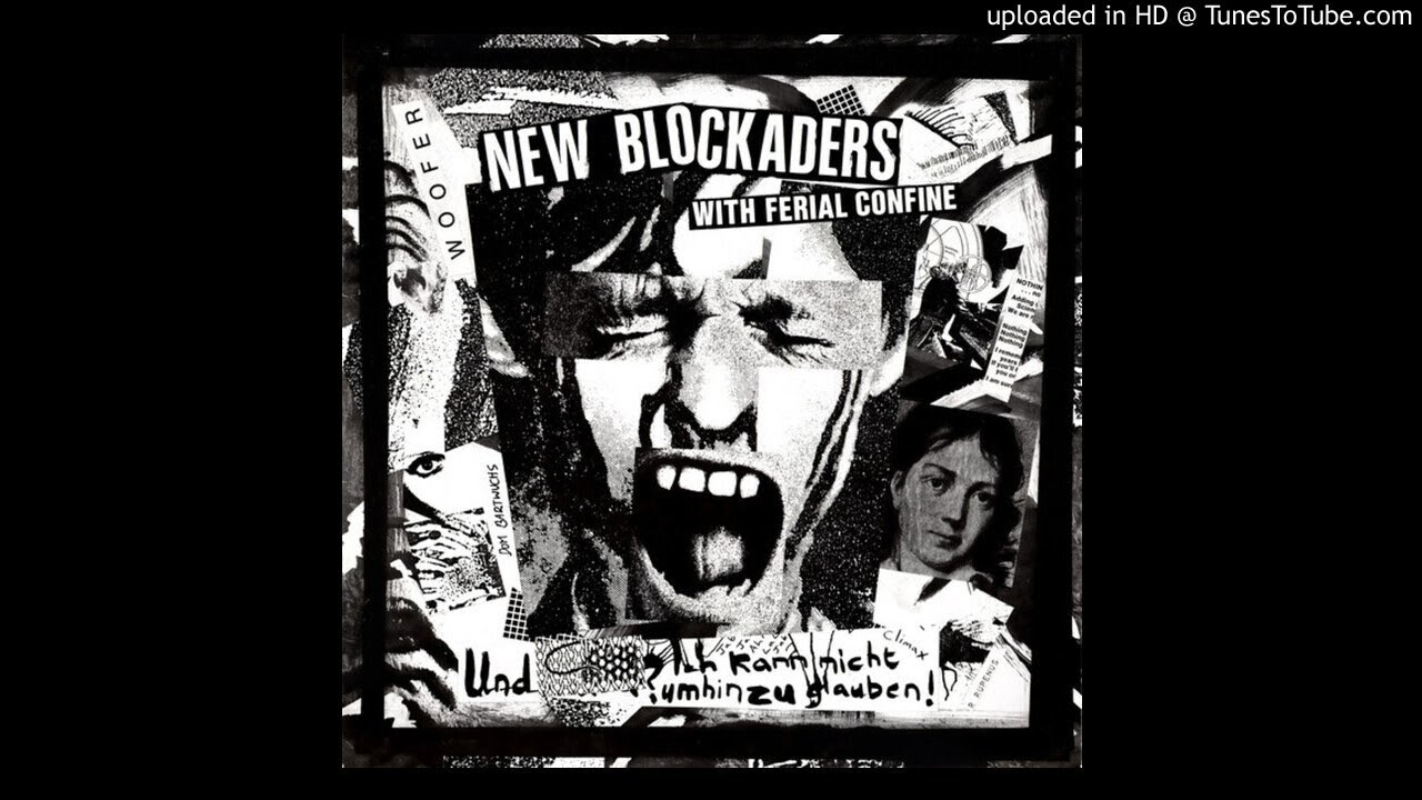 THE NEW BLOCKADERS with FERIAL CONFINE 'The Final Recordings' LP 1990 (FULL ALBUM) new vinyl rip