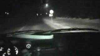 Real accident caused by an human ghost... Very scary