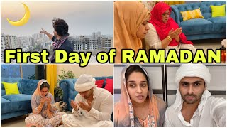 How was our first day of RAMADAN | But something happened that disappointed me a lot |Shoaib Ibrahim