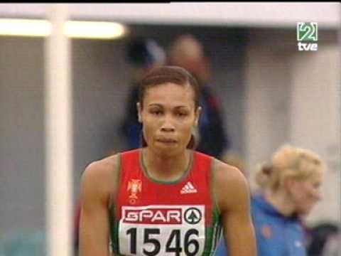 Atletismo :: Naide Gomes, medalha de prata nos Europeus em Gotemburgo 2006.