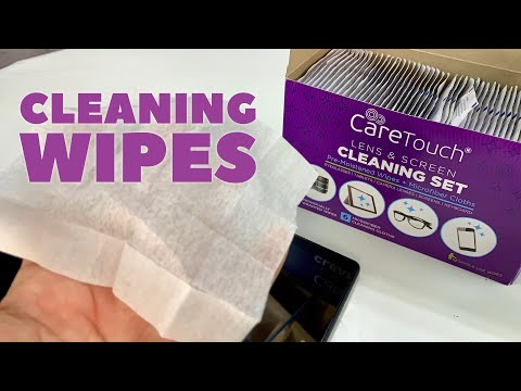These Cleaning Wipes Clean Electronics, Screens, And Glasses
