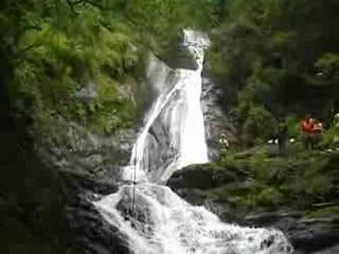 Canopy tour over 11 waterfalls Costa Rica