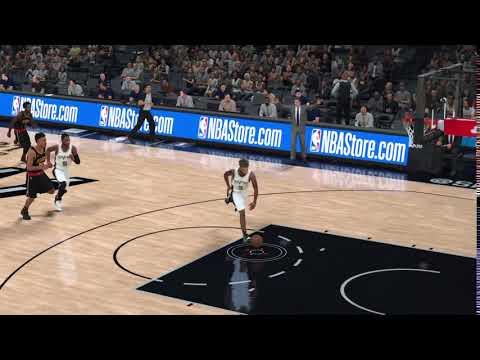 NBA 2K18 Self Alley... Oops