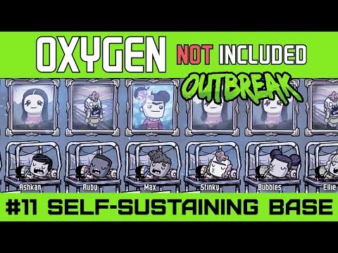 Completely Sustainable Base - Oxygen Not Included OUTBREAK Update - Ep11 [4k]