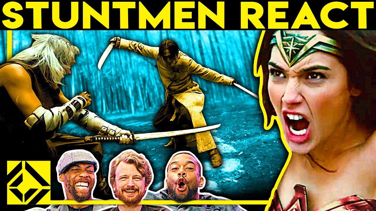 Download Stuntmen React To Bad & Great Hollywood Stunts 24