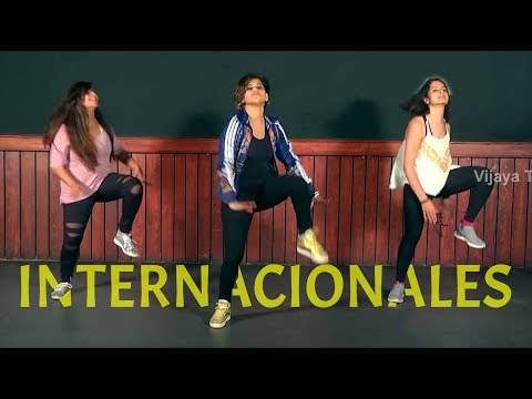 Zumba Workout On Bomba Estéreo Song | Internacionales | ZumbaDance |Choreographed By Vijaya Tupurani