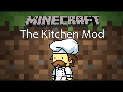 Minecraft Mod รีวิว - Mod ห้องครัว   The Kitchen Mod