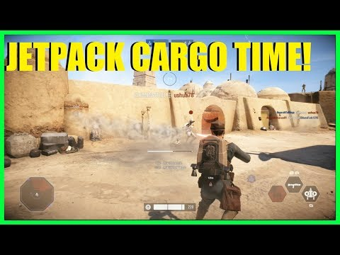 Star Wars Battlefront 2 - Trying the new Jetpack Cargo! RPGs EVERYWHERE XD