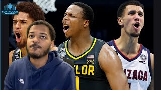 BAYLOR vs GONZAGA Reaction - 2021 NCAA Championship