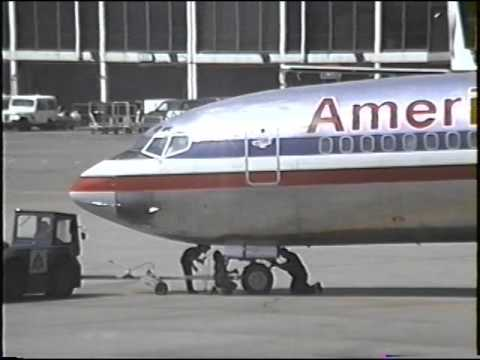 American Airlines Boeing 727 100 Ground Activity Ord