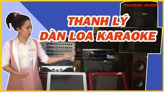 Thanh Lý Dàn Loa karaoke  - Vang Số  -  Cục Đẩy - Dàn Loa Xem Phim Chính Hãng (Hết Hàng)