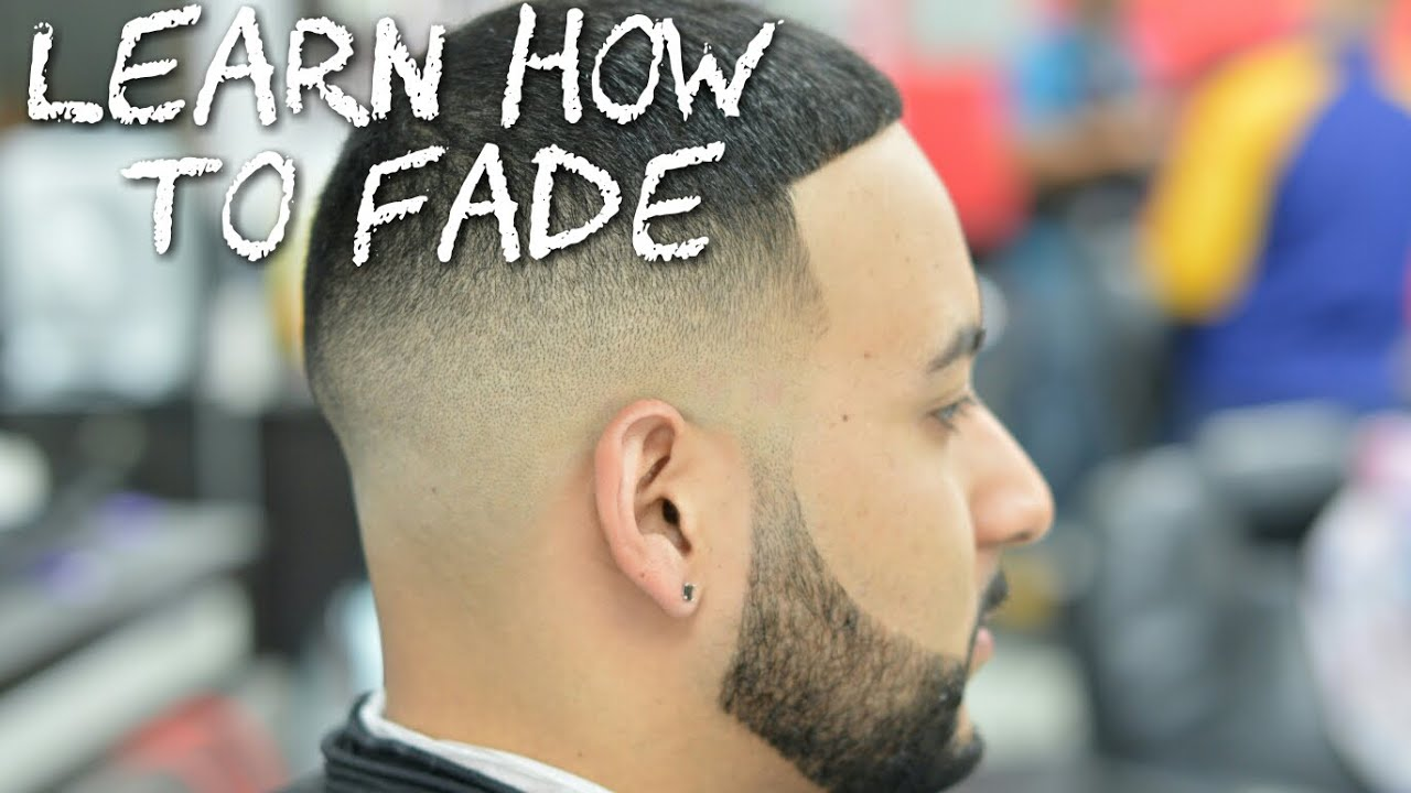 Straight Hair Cutting Video How To Fade Hair Bald Fade Barber Tutorial Youtube