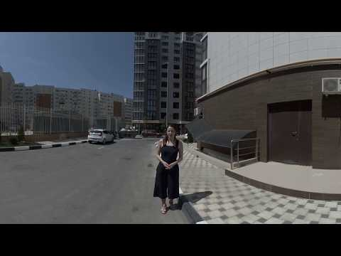 """Анапа. СК """"Гамма"""". ЖК """"Тургеневский квартал"""" (панорамное видео 360°/VR) #АНАПА2018"""