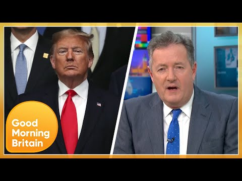 Donald Trump Has 'Lost His Mind' - Piers Morgan Reacts to President Joe Biden's Inauguration | GMB