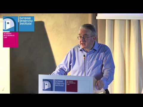 Academy of European Law: Distinguished Lecture by Sir Michael Wood