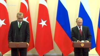 Россия и Турция частично восстановили двусторонние отношения