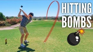 Brodie's Long Drives (350+ Yards) | Victoria Golf Course Part 1