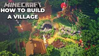 How to build your FIRST Village in Minecraft 1.15 Survival
