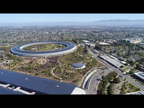APPLE PARK: mid-April 2018 | A Very Private Corporate Campus