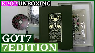 Unboxing GOT7 [7EDITION] 갓세븐 Kpop Unboxing 케이팝 언박싱 goods 화보집…