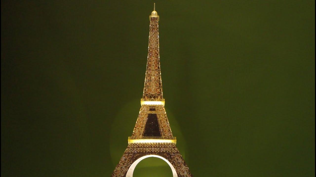 Ravensburger Night Edition 3d Puzzle Eiffel Tower