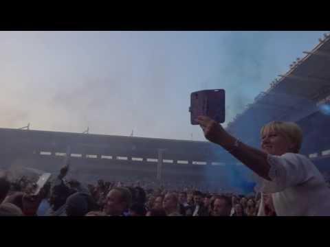 Kasabian intro + Underdog at King Power Stadium  28th May 2016