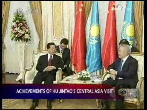 Hu Jintao completes visit to Central Asia - CCTV 091215