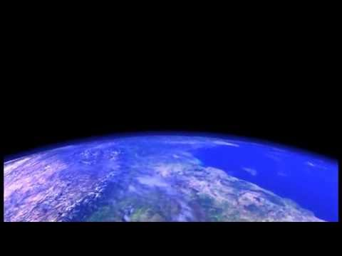 Earth animation of  an orbit around the earth created in Maya