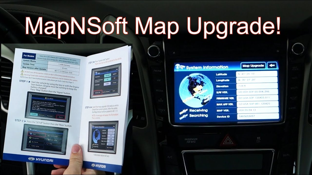 How To Update Maps On Hyundai Kia Vehicles