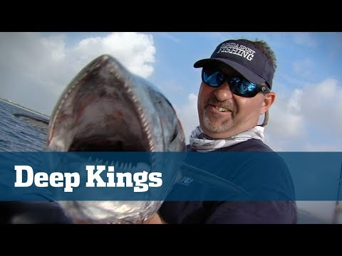 Slow Trolling For King Mackerel With Downriggers