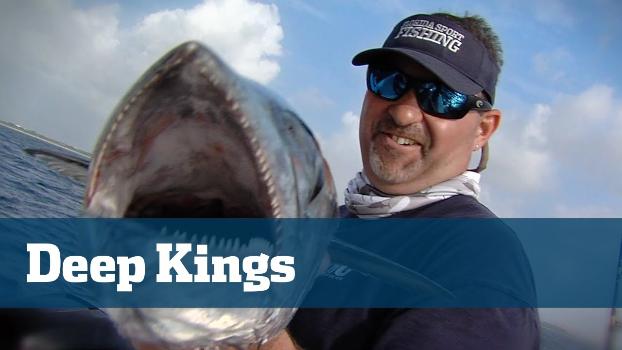 Slow Trolling For King Mackerel With Downriggers - Florida Sport Fishing TV