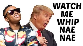 Donald Trump Sings Watch Me (Whip/Nae Nae) by Silentó thumbnail