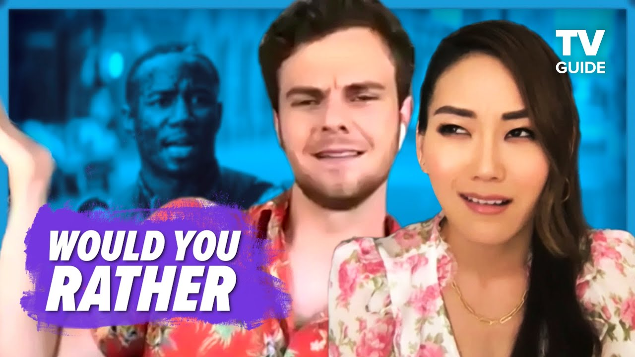 The Boys Cast Plays WOULD YOU RATHER