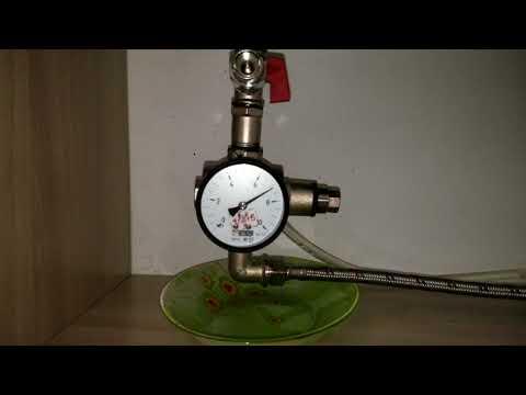 Выбор предохранительного клапана водонагревателя. Тестирование