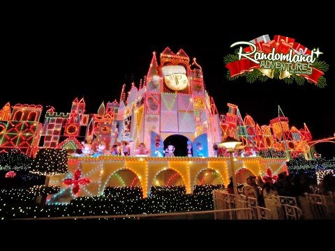 It's Christmas at Disneyland!
