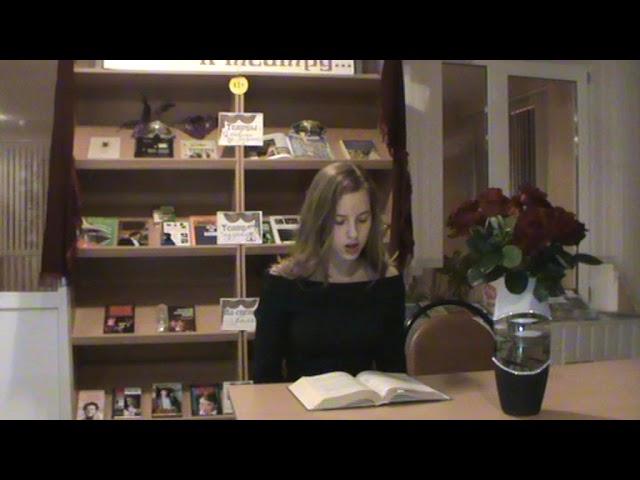 Изображение предпросмотра прочтения – ПолинаГришина читает произведение «Как хороши, как свежи были розы ...» И.С.Тургенева