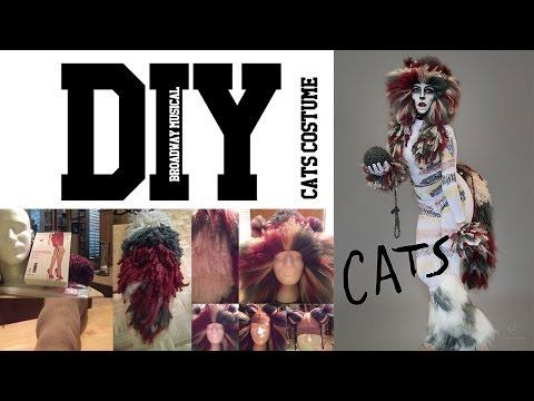 DIY CATs Broadway Musical Inspired Full Costume