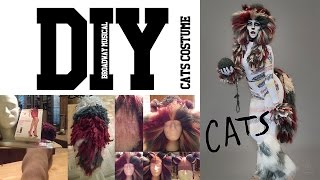 Diy Cats Broadway Musical Inspired Full Costume Youtube