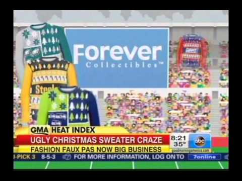 Bernard Whitman Discusses the Ugly Christmas Sweater Craze on Good Morning America