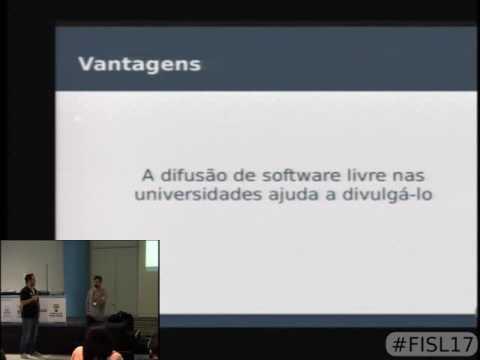 Como criamos uma cultura de software livre na universidade de brasília
