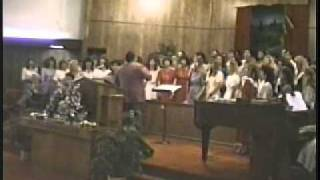 Northport Church of God Choir Reunion - 1990 - No Other Blood - Brenda Jones and Rick Burroughs.wmv