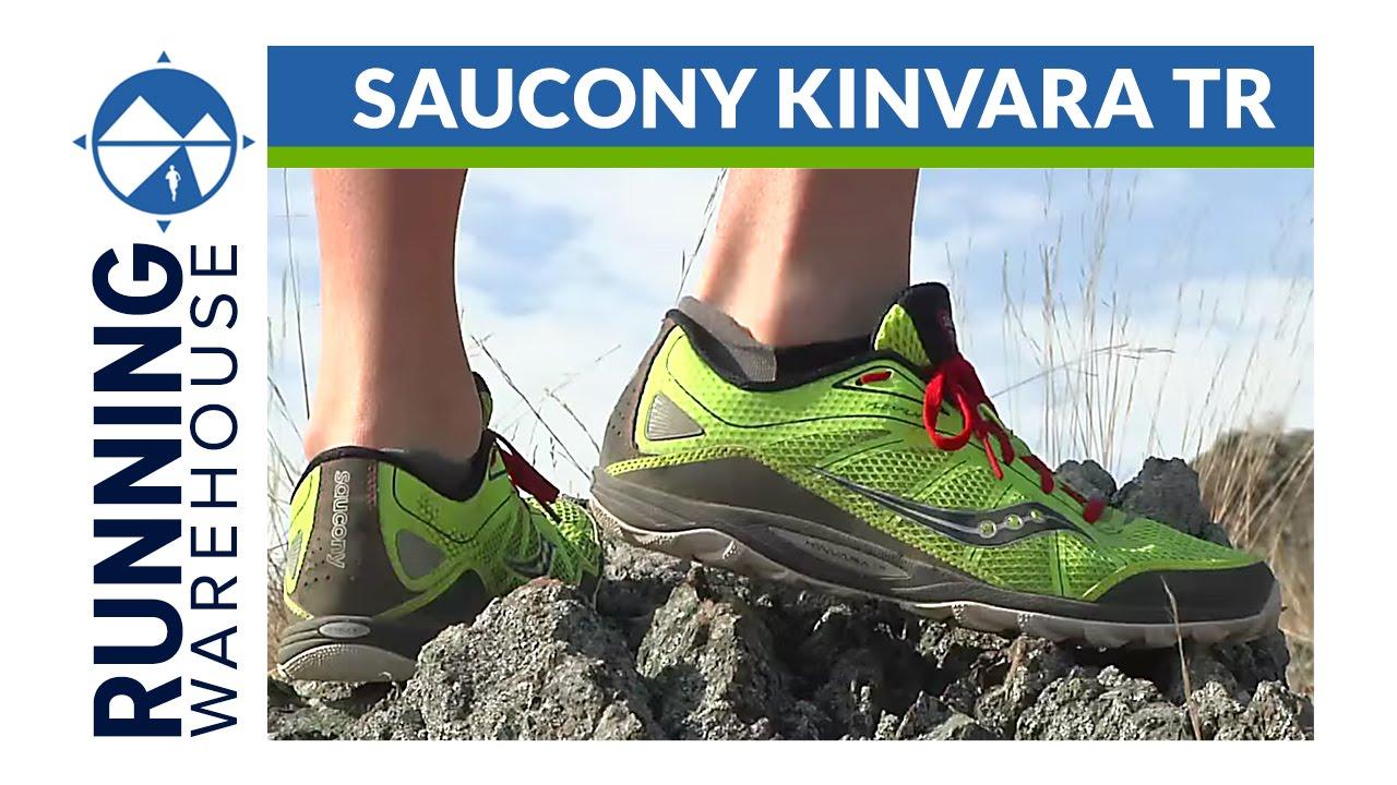 Saucony Kinvara TR Shoe Review - YouTube